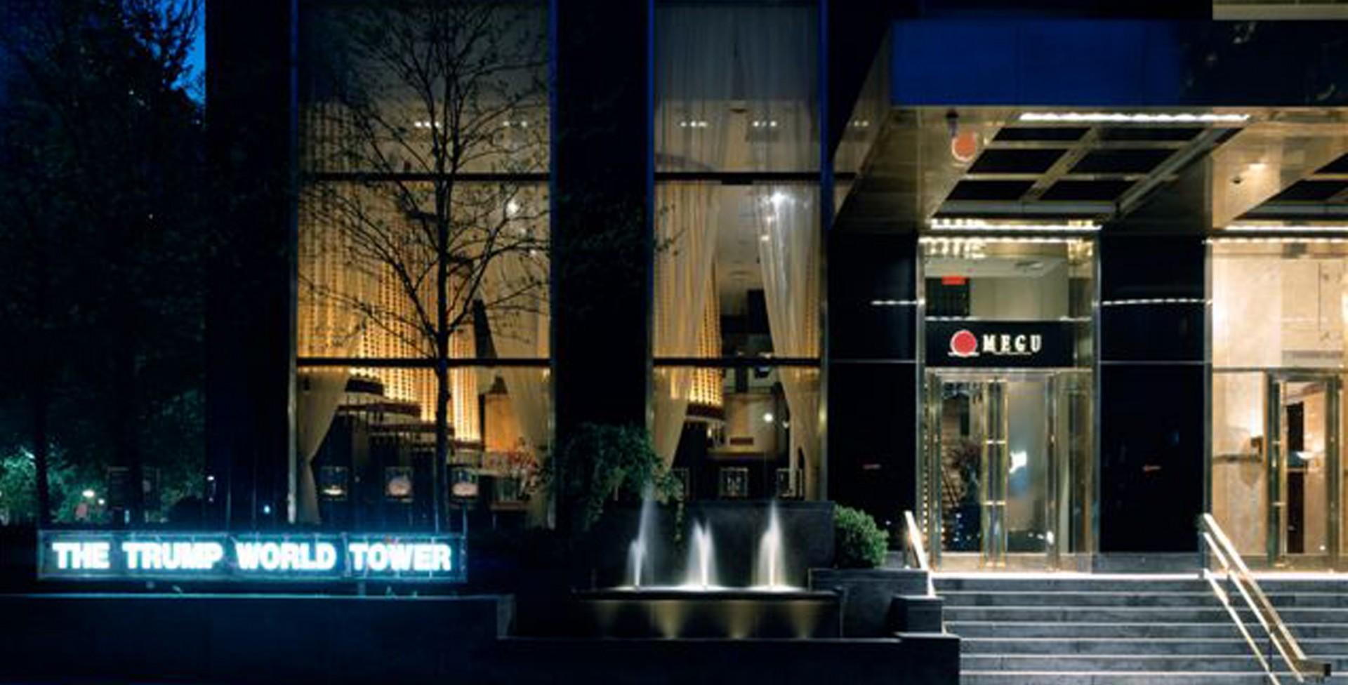 Marin Architects 183 Megu Trump World Tower
